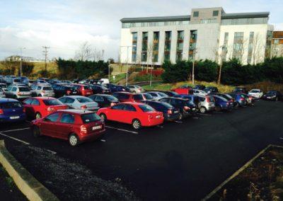 Car park at Pensions Offices, Sligo