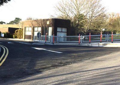 road junction markings