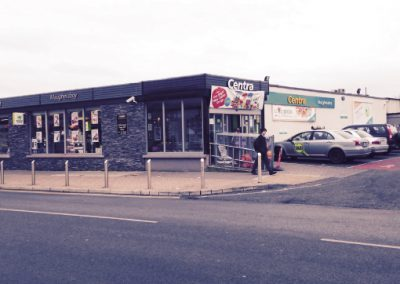 Centra and carpark at Maugheraboy Sligo