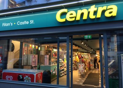 Facade of Centra supermarket Sligo