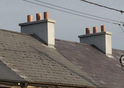 2 chimneys